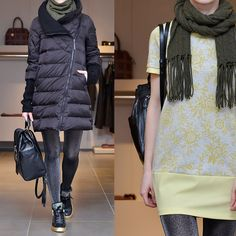 : Пуховик Liu Jo. Платье Liu Jo. Шарф Polo Ralph Lauren. Колготки @calzedonia_dag Рюкзак Diane von Furstenberg. Обувь Guardiani.