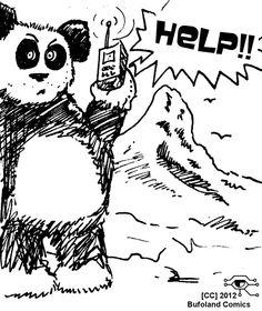 Panda Help by Bufoland.deviantart.com on @DeviantArt