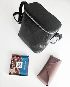 """112 Likes, 2 Comments - Gabriella Buzas (@epicstreetstyle) on Instagram: """"Happy Friday! 🙌💋 . ."""" luxe leather bag nakedvice ray-ban rittersport chocolate dessert cool accessories wiw whatiwear inspo"""