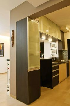 Pinrathi Kannan On Kitchen  Pinterest  Puja Room Interiors Mesmerizing Pooja Room In Kitchen Designs Review