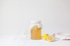 Elderflower lemonade