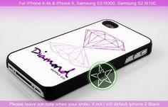 Purple Diamond Supply Co iPhone 4/4S/5, Samsung S4/S3/S2 case cover | sedoyoseneng - Accessories on ArtFire