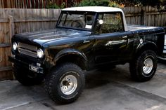 International Scout! a very rare truck to find....i want it real bad :)
