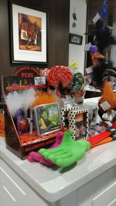 Need that finishing touch for your Halloween costume? The Prairie Treasures Gift Shop has many items from our All Hallows event available including blinky things, spooky things and whatever that grabby hand thing is.