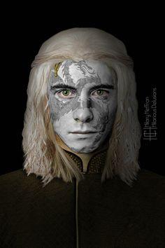Viserys Targaryen by Hilary Heffron - Hilarious Delusions