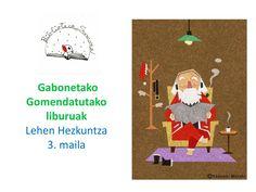 Gomendatutako liburuak. Lehen Hezkuntza 3. maila