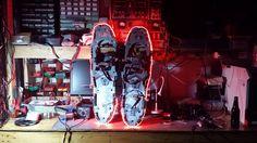 LED Snowshoes!