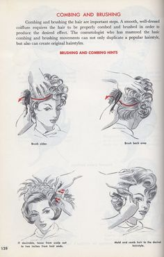 Going Out Hairstyles, 40s Hairstyles, Vintage Hairstyles, Hairstyle Ideas, Punk Makeup, Wet Set, Pin Up Hair, Hair Hacks, Hair Tips