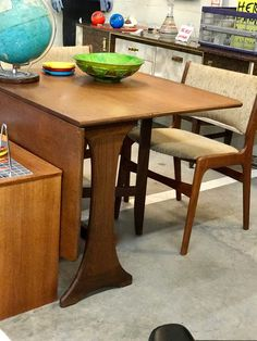 Mid Century Gate Leg Table   $275  Mid Century Dallas Booth #766  Lula B's in the OC! 1982 Ft. Worth Ave. Dallas, TX 75208