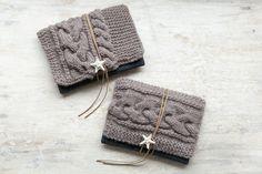 knit clutch bag