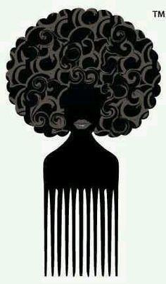I want this afro pick Black Girl Art, Black Women Art, Black Girl Magic, Black Girls, Art Girl, Natural Hair Art, Pelo Natural, Love Natural, Natural Hair Styles
