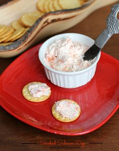 Serve his creamy smoked salmon dip with vegetables, crackers or on top of a bagel. It's easy to whip up and a great way to use any leftover salmon.