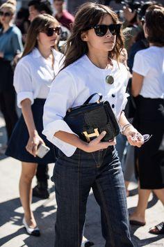 Le petit sac Hermès, le meilleur ami des working girls. // www.leasyluxe.com #classic #hermes #leasyluxe
