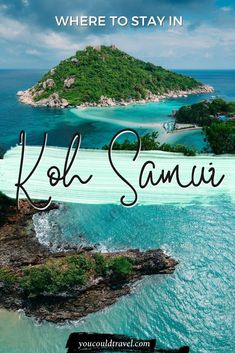 Where to stay in Koh Samui - Wondering where to stay in Koh Samui, Thailand? Here is where to find the best hotels and accommodation in this wonderful island in Thailand, including tailored recommendations for every single budget. Thailand Adventure, Thailand Travel Guide, Visit Thailand, Asia Travel, Solo Travel, Thailand Itinerary 2 Weeks, Travel Usa, Thailand Vacation, Wanderlust Travel