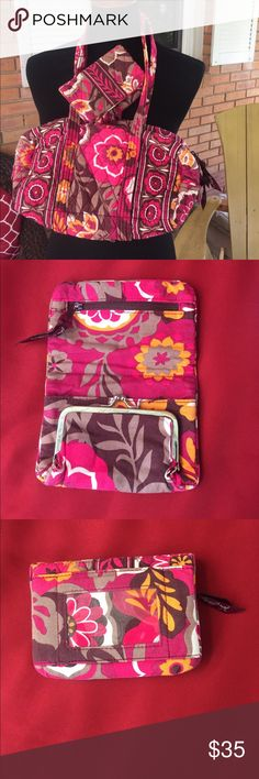 Vera bradley purse and wallet Matching puts and wallet Vera Bradley Bags Shoulder Bags