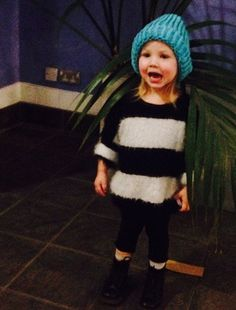 This can't be Lux. Lux is a baby. When did she grow up? Where did the time go?