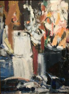 Grace Hartigan, 'Coffee Pot and Gladiolas', 1954