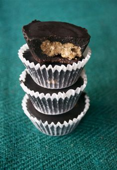 Chocolate Coconut Almond Butter Cups - Paleo and sugar free