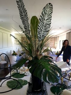 African themed party at the Merion Cricket Club in Merion PA. By Lane and Lenge Florist.