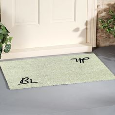 Natural Coir Door Mats with Attractive Printed Designs to Welcome your Guests. The tough hard wearing Coir Brush Surfaces keeps the dirt away from your home. Mats are available in rectangular, half, round, oval and oblong shapes in all regular sizes. Ideal for covered entrance ways and patios. Coir surface with Anti slip backing. Made from natural coconut fibers called coir. Natural coconut fibers enhance beauty and offer superior cleaning performance. Coir Doormat, Entrance Ways, Door Mats, Welcome Mats, Coconut, Surface, House Design, Shapes, Cleaning