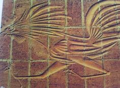 Bird Intglio Carving by Walter Ritchie