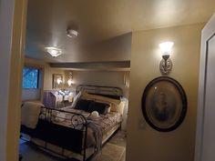 """HeartDeco"" in the Lakeheart Guesthouse bedroom Oregon Coast, Art Deco, The Originals, Bedroom, Furniture, Home Decor, Decoration Home, Room Decor, Bedrooms"