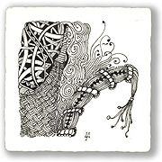 'zentangles' - I could do with some zen!
