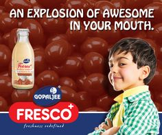 GopalJee Fresco Chocolate Flavored Milk - just for everyone :)  #Chocolate #FlavoredMilk #Milk #HealthyDiet #Kids
