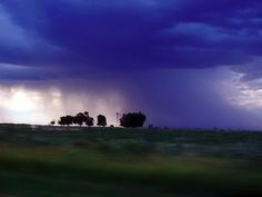 Rain Storm over Texas Panhandle