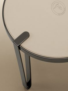 Sneak peek of the new collection for Salone del Mobile 2015. The perfect combination of leather and steel, Bondai table is the piece you have to have in your living room. Luxury Living Group