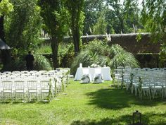 crmonie de mariage au cur du parc de la bastide mariagebucolique - Bastide Aix En Provence Mariage