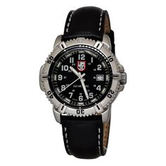 Shop for Luminox 7251 Authentic Women's Wrist-watch with Quartz Movement, Stainless Steel Case, Screw Down Crown and Black Dial at discounted price with free worldwide shipping in United States
