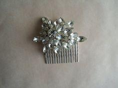 Vintage Bridal Hair comb Upcycled True Vintage by MilliesCorner, $89.95