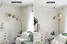 Install Crown Molding  Add value and architectural interest to your home by installing crown molding. It's extremely affordable to buy and the hardest part is just measuring correctly — there's no need to hire a contract for this renovation!