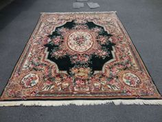 French Aubusson Style Wool Rug Masterpiece!! 10' x 7' 9""