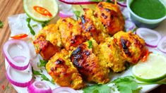 Murgh Banjara Kabab - Spicy World Simple and Easy Recipes by Arpita Kebab Recipes, Indian Food Recipes, New Recipes, Easy Recipes, Vegetarian Recipes, Easy Meals, Ethnic Recipes, Green Chutney, Food Categories