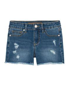Joe's Jeans Kids' Girl's Distressed Frayed-hem Stretch Denim Shorts In Blue 70s Fashion, Fashion Pants, Korean Fashion, Winter Fashion, Vintage Fashion, Fashion Tips For Women, Womens Fashion, Fashion Ideas, Fashion Essentials