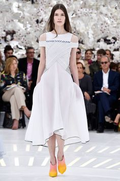 Christian Dior Couture Fall 2014. See all the best looks here.
