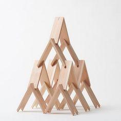 Kengo Kuma's Triangular Block Set Now Available | ArchDaily