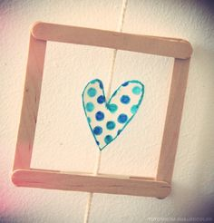 C& tout simple. Scrapbooking, Diy Gifts, Simple, Frame, Crafts, Handmade, Images, Ideas, Art Kids