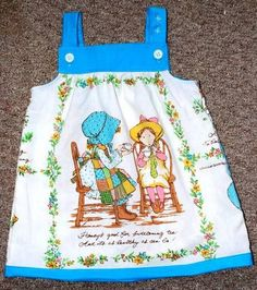 now i wish i could find a Holly Hobbie sheet so Shanelle could have one of these too.