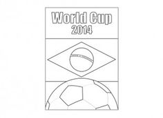 Print off this poster to get you child excited about the World Cup!