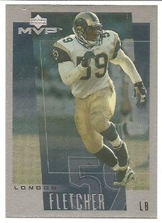 London Fletcher 2001 Upper Deck Rookie F/X St. Louis Rams Card 141 >>> This is an Amazon Affiliate link. See this great product.