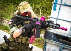 I have this and I looooove it! Military Guns, Military Women, Fn Herstal, Camo Guns, Classic Army, Paintball Mask, Weapon Storage, Remington 700, Airsoft Gear