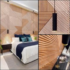 Nice feature timber wall