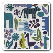@rosenberryrooms is offering $20 OFF your purchase! Share the news and save!  Maddie Boo Fabric - Blue Zoo #rosenberryrooms