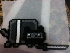 -Perler- Ninja Nyan Cat by ~OtakuLuka on deviantART