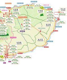 꿀팁) 제주도 관광지도/관광지 지도/맛집 지도/전화번호 : 네이버 블로그
