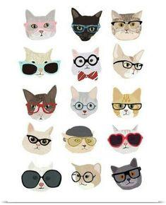 38 Ideas for cats illustration pattern gatos Iphone Wallpaper Illustration, Iphone Wallpaper Cat, Dog Illustration, Art Kawaii, Anime Kawaii, Paul Panzer, Cat Pattern Wallpaper, Wallpaper Marvel, Images Victoriennes