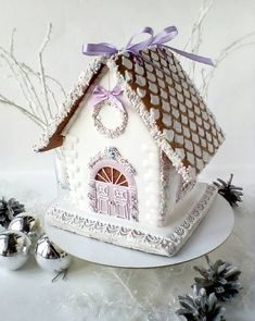 1 million+ Stunning Free Images to Use Anywhere Christmas Cake Decorations, Christmas Desserts, Christmas Treats, Christmas Cookies, Christmas Gingerbread House, Gingerbread Houses, White Frosting, Barbie Cake, Free To Use Images